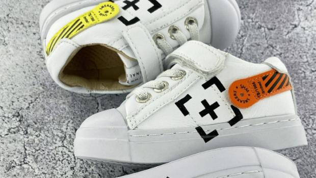 shoesme kinderschoenen, shoesme sneakers, offwhite sneakers kids