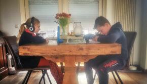 thuisonderwijs, thuis leren, huiswerk, thuiswerk, mamajuf, schoolwerk