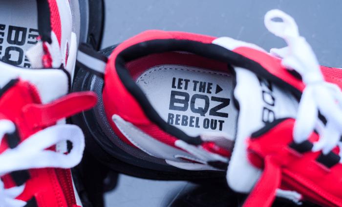 Braqeez Gio Genna - 421470 - Rood, braqeez sneakers, rode sneakers jongens, rode kindersneakers