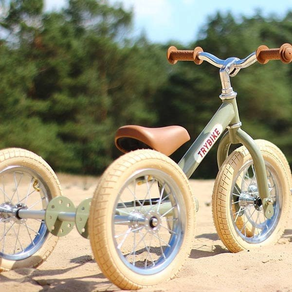 trybike, trybike loopfiets, trybike vintage green online bestellen