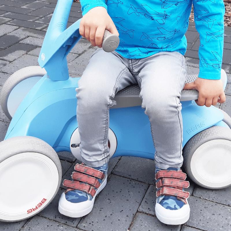 Go Banana's, canvaskindersneakers, kindersneakers met klittenband