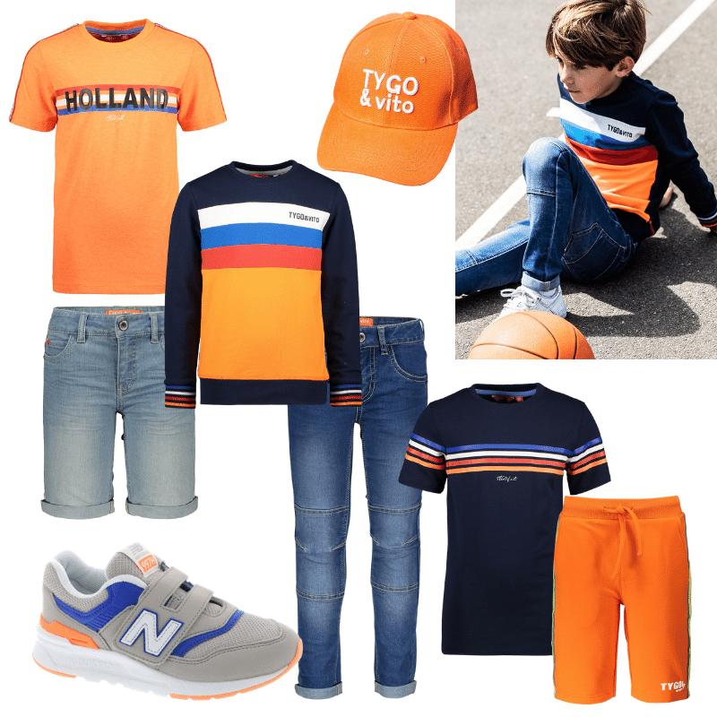 oranje boven, koningsdag kleding, oranje kleding, oranje shirts jongen, holland shirt jongens, koningsdag t-shirt jongen, koningsspelen tshirt, koningsspelen kleding
