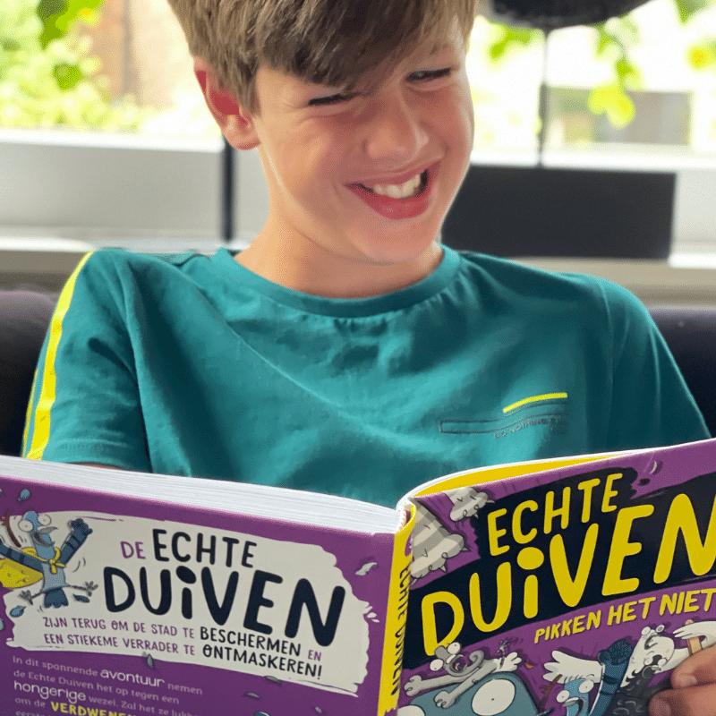 Echte Duiven pikken het niet, echte duiven serie, boek duiven, dyslexie boek, leuk kinderboek, billy bones, ,  kinderboeken, jongensboek