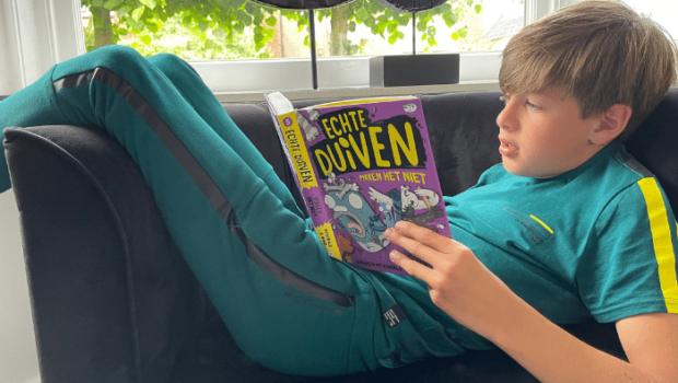 Echte Duiven pikken het niet, kinderboek, echte duiven serie, billy bones, leuk jongensboek, dyslexie boek