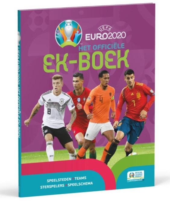 Het officiële EK-boek, ek voetbal 2021, ek voetbal boeken, voetbal boeken