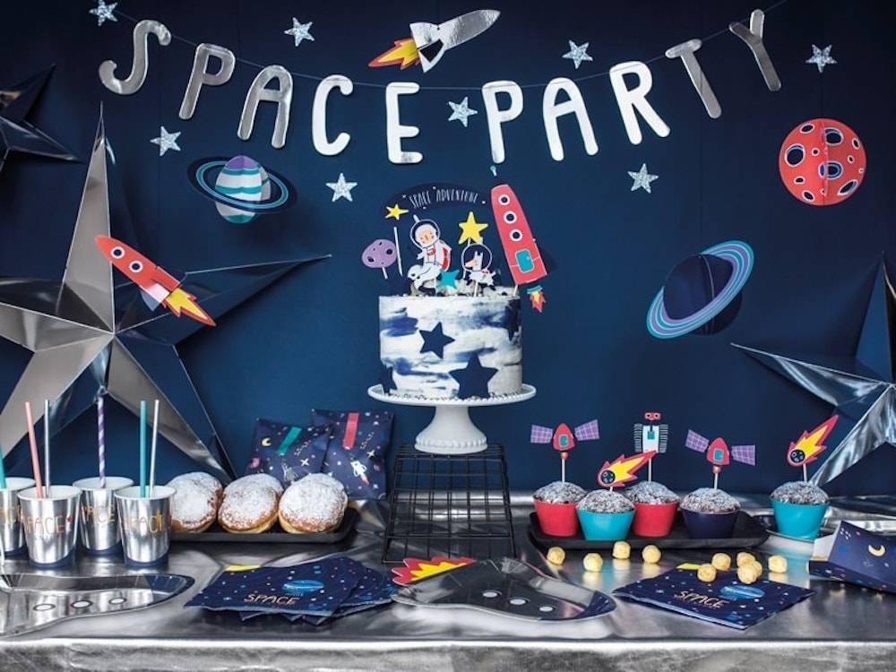 ruimte feestje, space feestje, kinderfeestje thema ruimte, astronautenfeestje, kinderfeestjes, jongensfeestje