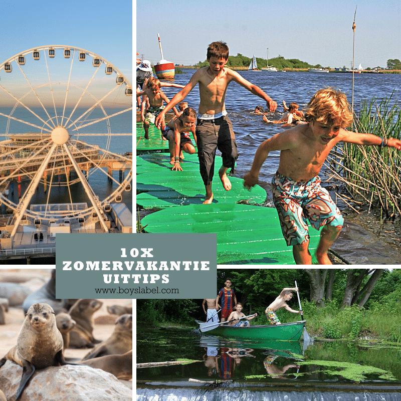 zomervakantie uittips, dagjes weg met kinderen, zomervakantie, kinder uittips