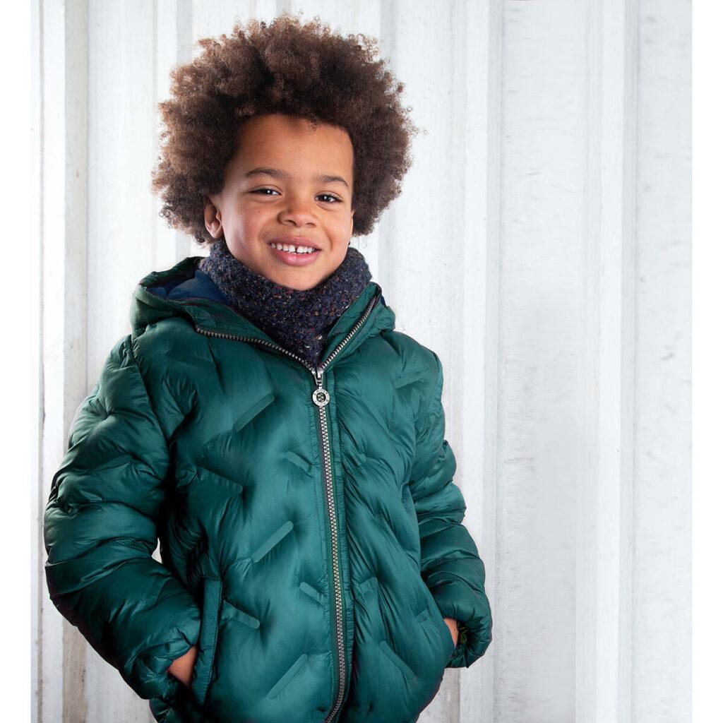 BNOSY jas, BNOSY winterjas, groene winterjas jongen, winterjas jongen maat 128, winterjas jongen maat 134, winterjas jongen maat 122, kinderjas jongen, groene winterjas, winterjassen kind 2021-2022