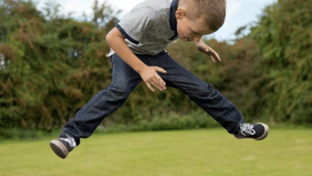 trampoline, de musthave voor jongens, buitenspeelgoed
