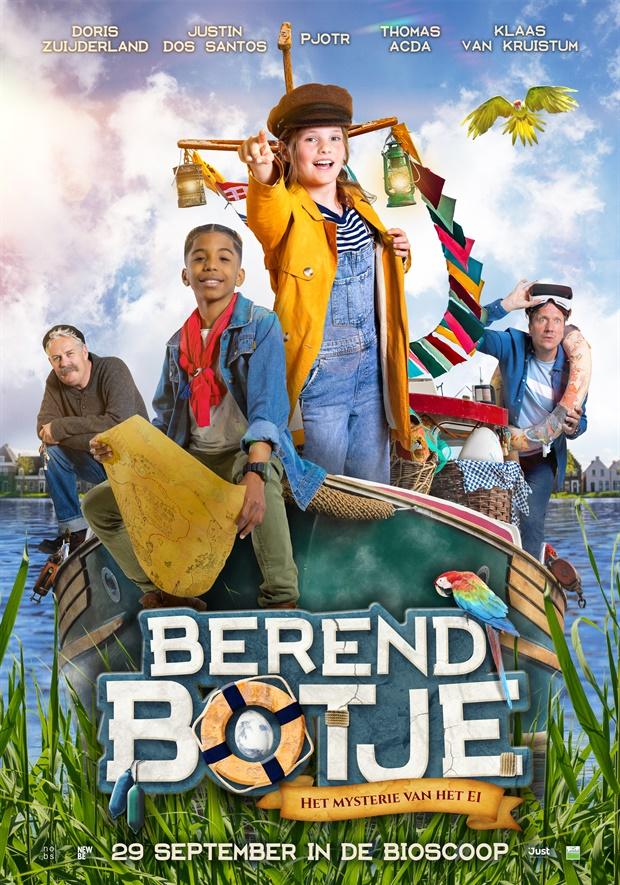 Berend Botje de film, berend botje, just entertainment, familiefilm, familiefilm oktober 2021 release, bioscoopfilm, kinderfilms bioscoop